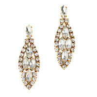Crystal icicle earrings - jewelry - Women's new arrivals - J.Crew