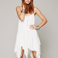 Free People Tattered Up Shred Slip