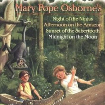 magic tree house #5 night of the ninjas