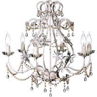 Eleanor White Chandelier
