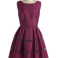 Dinner Party Darling Dress in Plum | Mod Retro Vintage Dresses | ModCloth.com