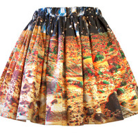 Marscape Skirt Mars Printed skirt by Shadowplaynyc on Etsy