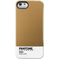 Pantone - iPhone 5 Pantone Universe case by Case Scenario in Gold Coin