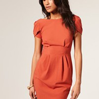 ASOS | ASOS Cowl Back Shift Dress at ASOS