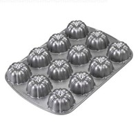 Nordic Ware Pro Cast Bundt Brownie Pan:Amazon:Kitchen & Dining