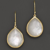 IPPOLITA 18K Gold Rock Candy Teardrop Earrings in Mother-of-Pearl Doublet | Bloomingdale's