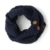 Tulle Clothing Stage Door Circle Scarf in Indigo | Mod Retro Vintage Scarves | ModCloth.com