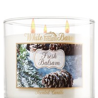 Fresh Balsam 14.5 oz. 3-Wick Candle   - Slatkin & Co. - Bath & Body Works
