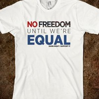 Same Love Macklemore Equality Shirt-Unisex White T-Shirt