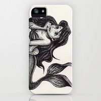 Little Mermaid iPhone & iPod Case by Jack Kershaw