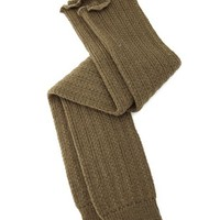 Pointelle Thick Knit Leg Warmer: Charlotte Russe