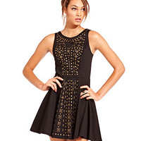 Material Girl Dress, Embellished Fit & Flare Party Dress - Juniors Shop All Material Girl Apparel - Macy's