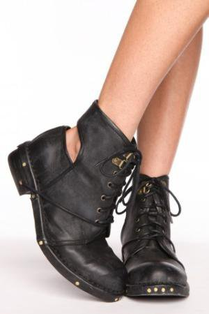 Rosie Cutout Combat Boot | NASTY GAL | Jeffrey Campbell shoes, Evil Twin, MinkPink, BB Dakota, vintage dresses + more!