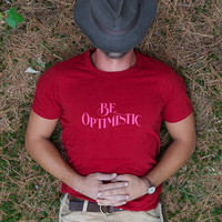 Best Made Company — Be Optimistic T-Shirt