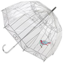 Lulu Guinness Birdcage - Birdcage - PVC Dome Umbrella