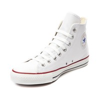 Converse All Star Hi Leather Sneaker, White Leather | Journeys Shoes