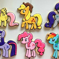 Little Horses (12cookies)