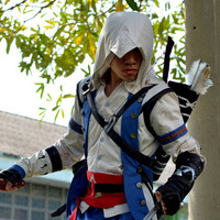 Assassin's Creed 3 Connor Costume Kenway Cosplay by RedstarCosplay