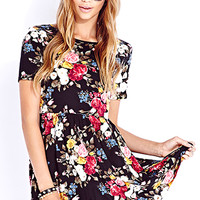 Darling Rose Babydoll Dress | FOREVER 21 - 2040496439