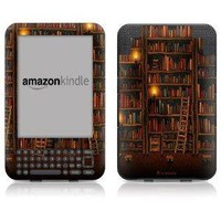 "DecalGirl Kindle Skin (Fits 6"" Display, Latest Generation Kindle) Library (Matte Finish)"