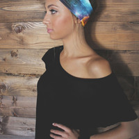 Turban Headband -- Galaxy