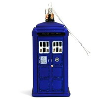 TARDIS - Doctor Who Christmas Ornament