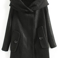 Winter Hooded Coat - OASAP.com