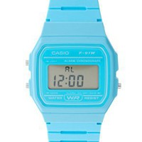 Casio | Casio Classic Blue Watch at ASOS