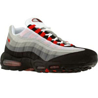 Nike Air Max 95 (white / sport red / neutral grey / medium grey) Shoes 609048-165 | PickYourShoes.com