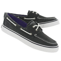 Sperry Top Sider Biscayne Black Boat Shoe