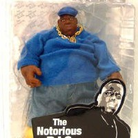 Notorious B.I.G. Action Figure (Blue Suit)