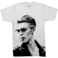 DAVID BOWIE TEE - Rock Legend Tees - French Connection Usa