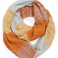 David & Young Stripe Infinity Scarf (Juniors) | Nordstrom
