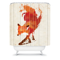 DENY Designs Home Accessories | Robert Farkas Vulpes Shower Curtain