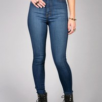 Express High Waist Skinnys | Trendy Denim at Pink Ice