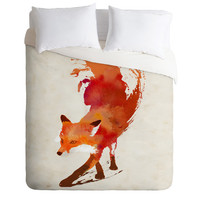 DENY Designs Home Accessories | Robert Farkas Vulpes Duvet Cover