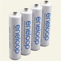 eneloop Rechargeable Batteries, 4-pack AAA