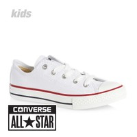 Converse All Star OX Trainers - Optical White