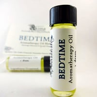 BEDTIME - Aromatherapy Oil Blend to aid with Sleep and Relaxation with essential oils