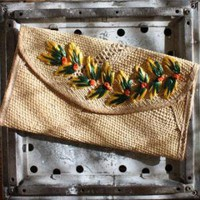 Vintage Woven Clutch, Women&#x27;s Clothing &amp; Accessoires