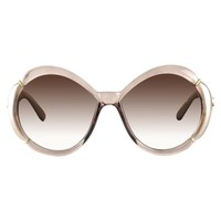 Women's Xhilaration® Round Sunglasses - Champagne