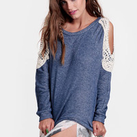 Karina Embellished Cutout Sweater