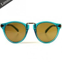 Karen Walker Eyewear - Helter Skelter - Crystal Turquoise at Gargyle