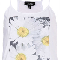 Photo Flower Cami - Tops - Clothing - Topshop USA
