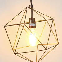 Urban Outfitters - Magical Thinking Geo Pendant Shade