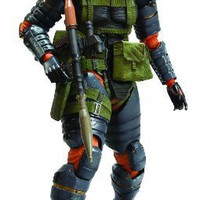 Square Enix Metal Gear Solid: Peace Walker: Play Arts Kai: Snake Action Figure (Battle Dress Version)