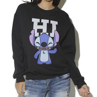 Lilo & Stitch Sweatshirt | Shop Tops at Wet Seal