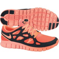 Nike Women's Free Run+ 2 Running Shoe - Crimson/Black | DICK'S Sporting Goods