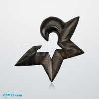 Areng Ebony Star Hanging Taper
