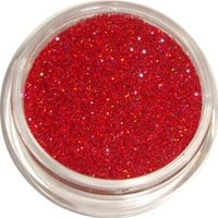 Red Holographic Glitter by CALLACosmetics on Etsy